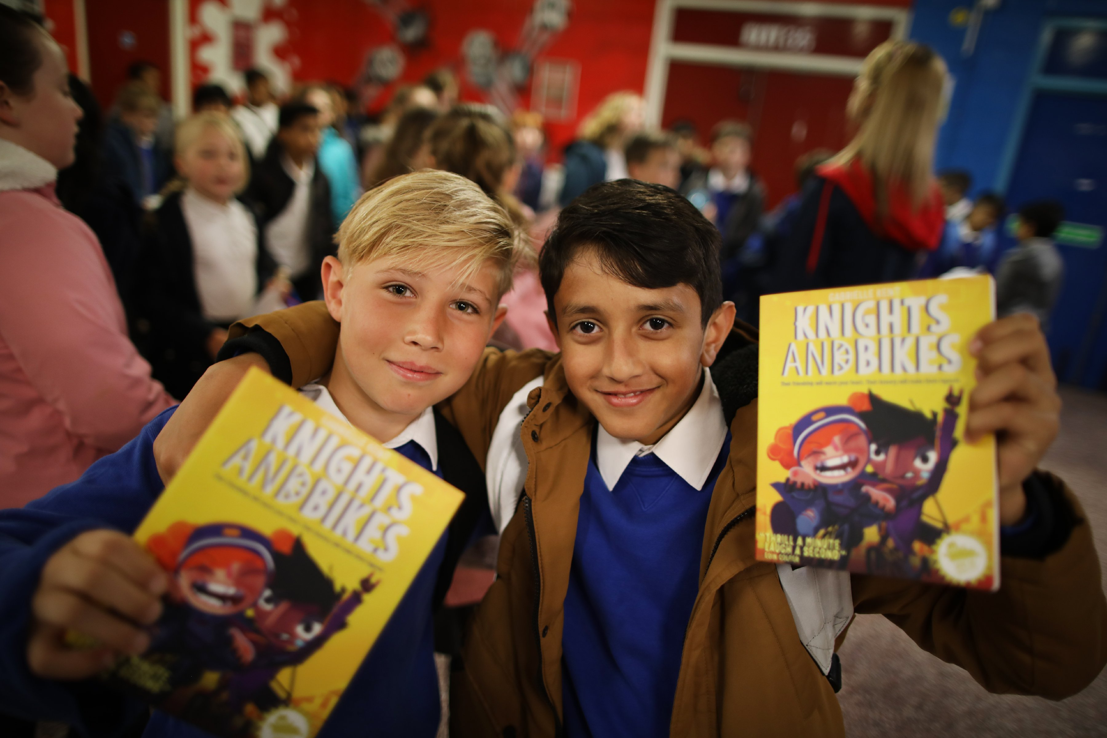 Young Readers Programme WHSmith funders