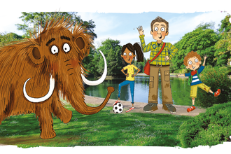 Mammoth Mystery Story Quest Stoke cover image