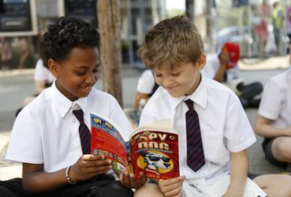 Helping children fall in love with reading with British Land