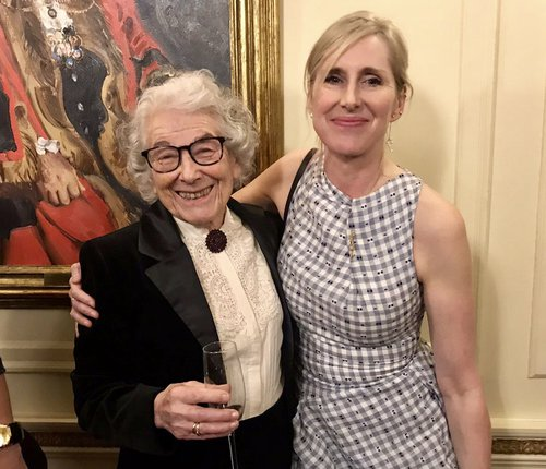 Judith Kerr and Lauren Child - Gala dinner 2018 - 2