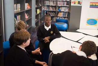 Sharing literacy resources and ideas throughout a city