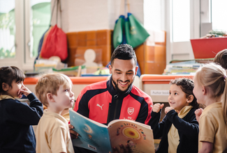 Using the power of football to transform children's futures