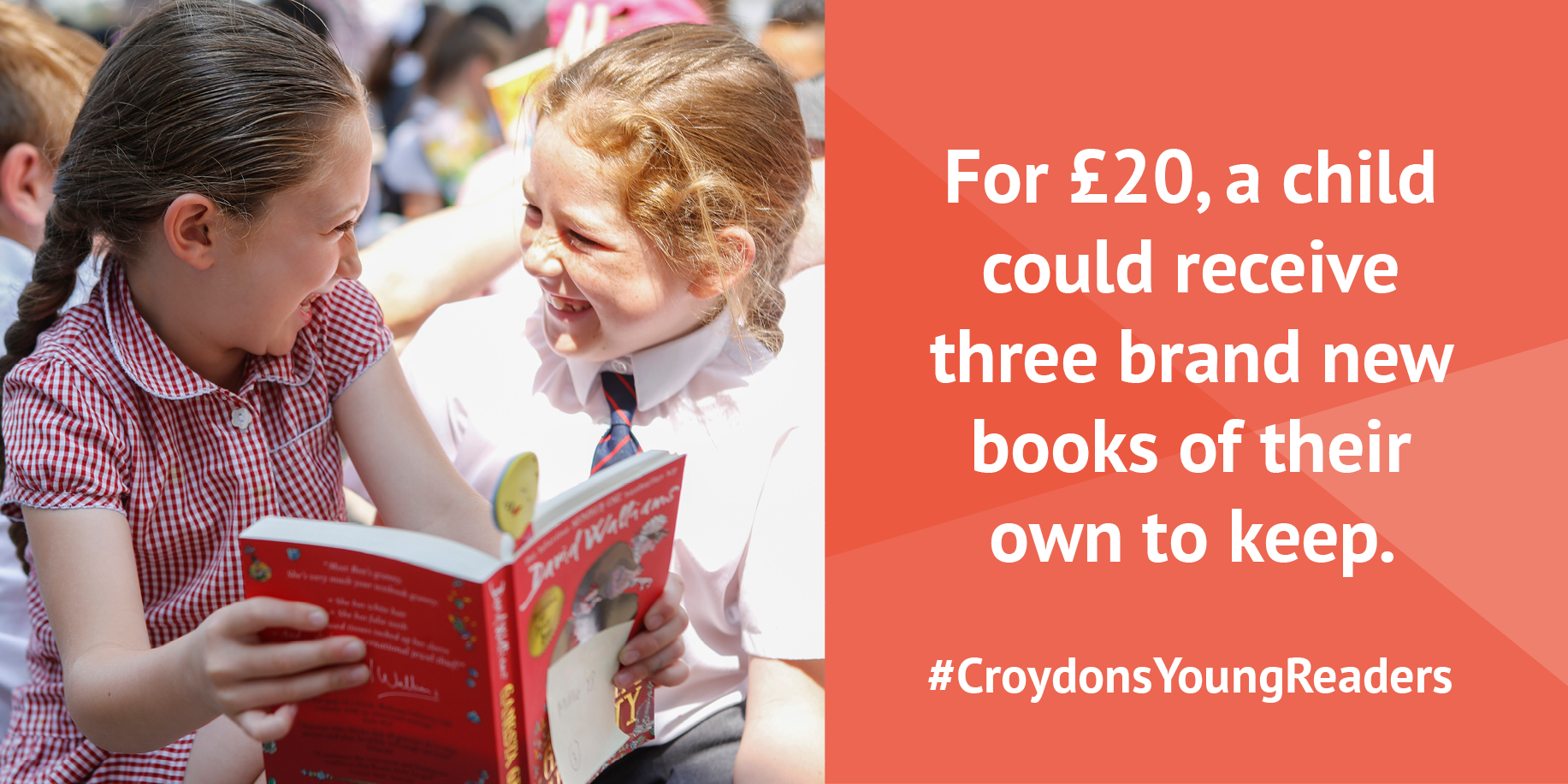 Croydons Young Readers infographic