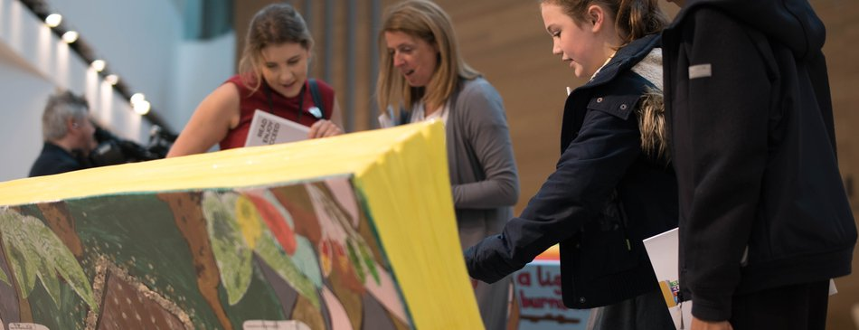 Bookbench exhibition