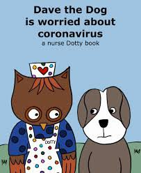 Dave the dog is worried about Coronavirus