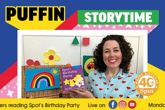 Spot on Puffin Storytime