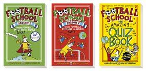 Football School - book covers
