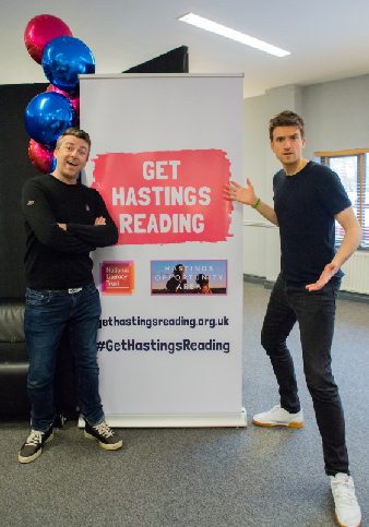 Greg James and Chris Smith