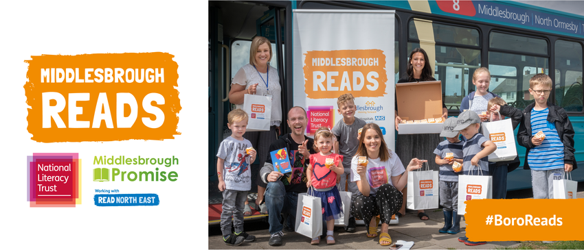 Middlesbrough Reads | National Literacy Trust