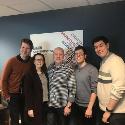 Nick comedy BBC Radio Cambridgeshire