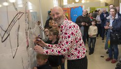 Nick Sharratt at Manchester Library