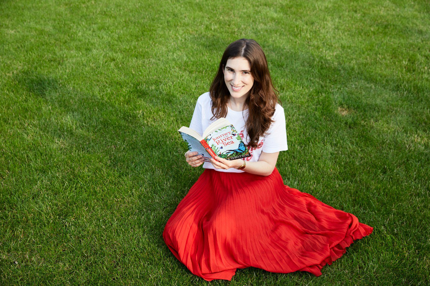 Katherine Rundell, award winning author of Rooftoppers and The Explorer, finds her perfect spot to Drop Everything and Read.jpg