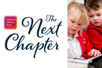 The Next Chapter logo and picture