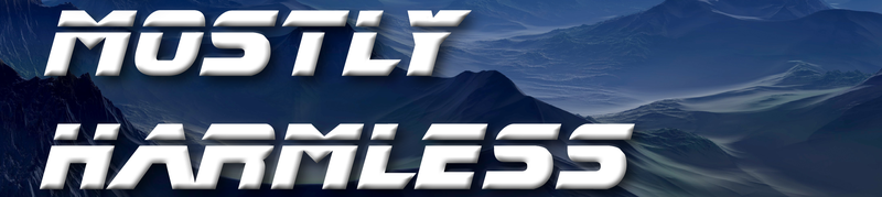 Mostly Harmless banner