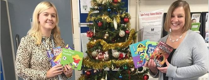 NEPAC gift of reading HMP Holme House Prison