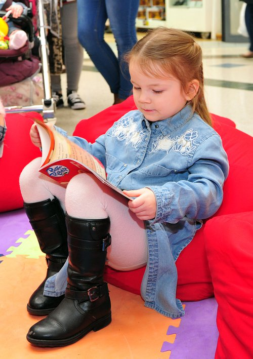 Stoke Reads event