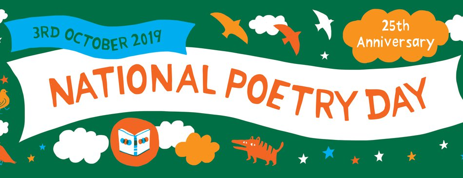 National Poetry Day 2019 Social Media Banner
