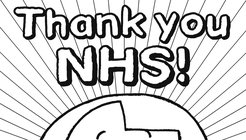 Nick Sharratt NHS thank you