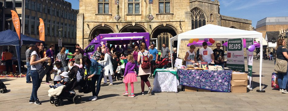 Peterborough Celebrates Reading public launch