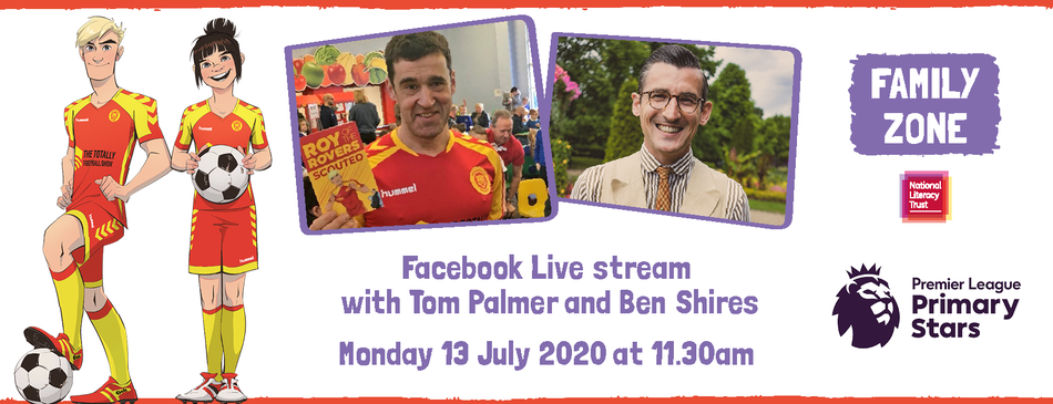 Facebook Live with Tom Palmer and Ben Shires