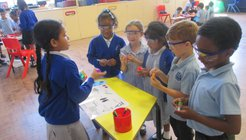 Howard Primary WfW Dream Big workplace visit
