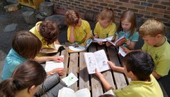 Pupils at Robsack Wood Primary Academy show us how they drop everything and read.jpg