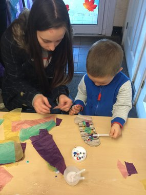 Step by Step Childcare - parent and child