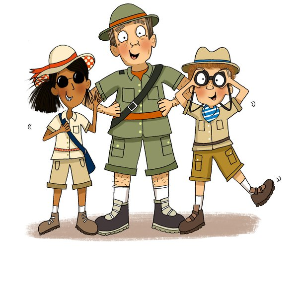 Three in safari gear.jpg