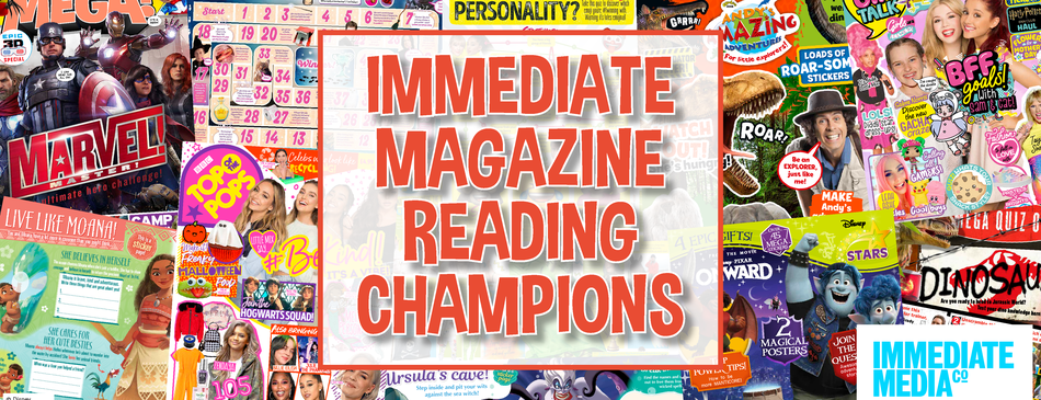 Immediate Magazine Reading Champions web banner