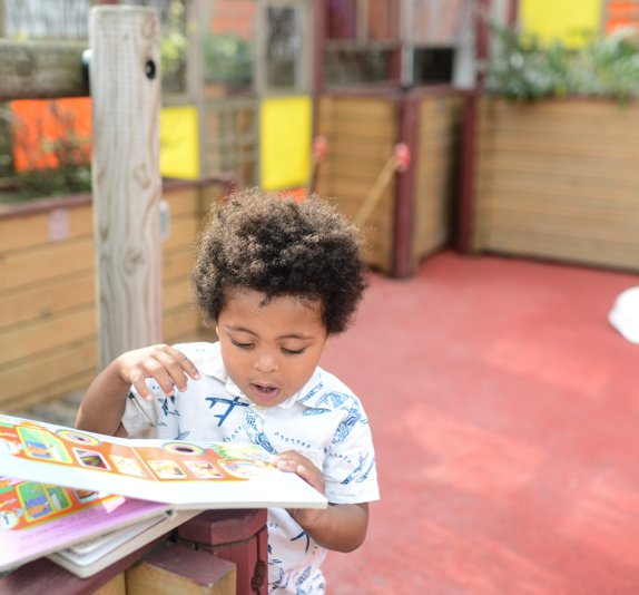EWT @ 2 - baby with book