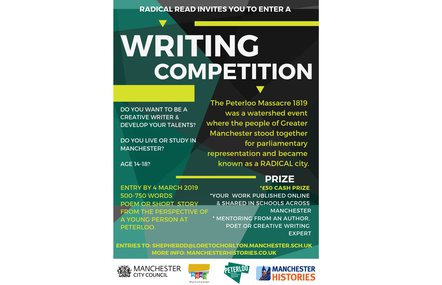 Radical Read writing competition