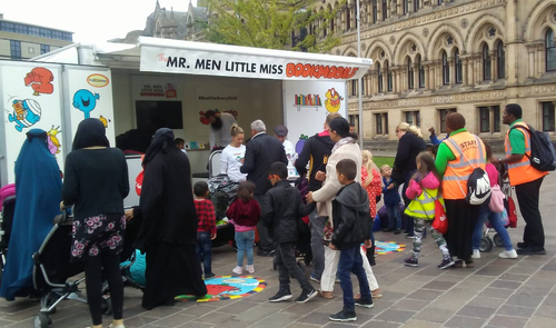 Mr Men in Bradford