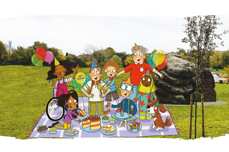 Picnic Party in the Park web
