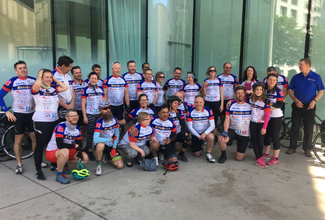 Raising money for literacy with cycling