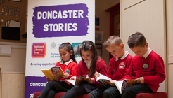 Doncaster Stories launch book giveaway