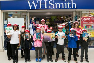 WHSmith give books to young readers