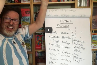 Football poetry paul cookson
