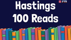 get hastings reading 100 reads postcard