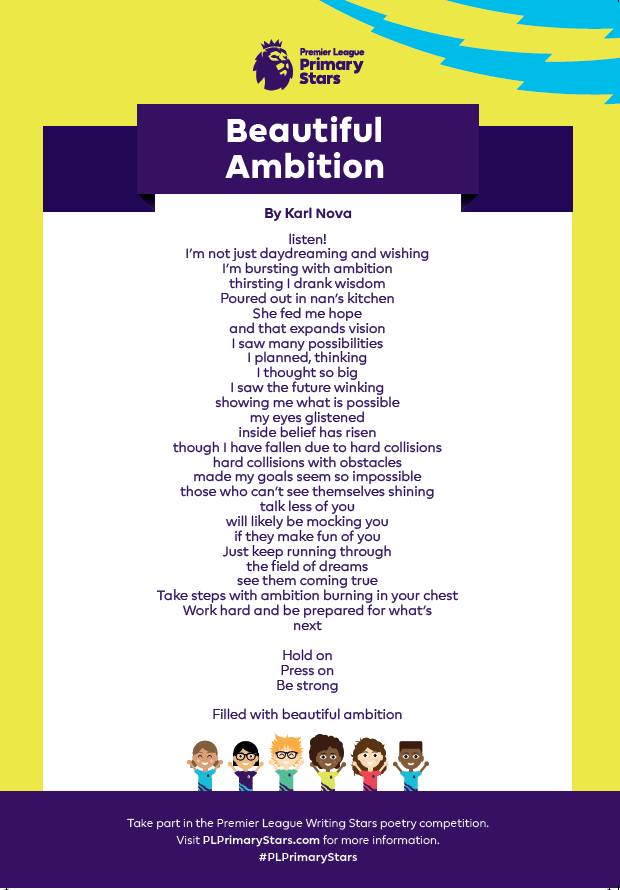 Karl Nova ambition poem