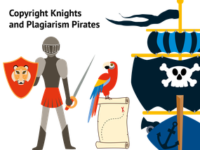 Copyright Knights and Plagiarism Pirates competition
