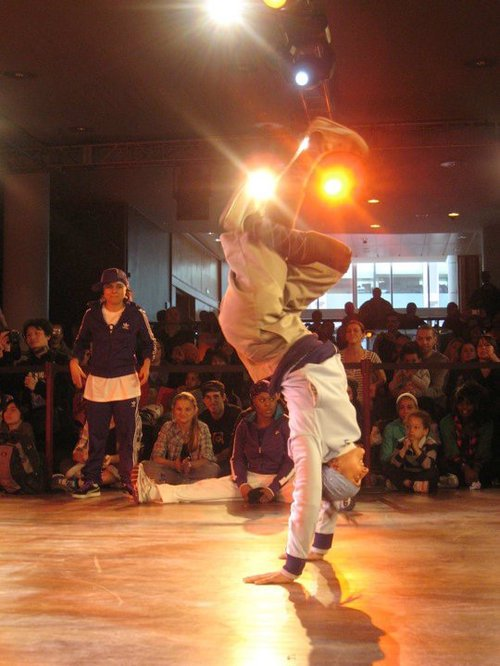 SunSun breakdancer, Skills Academy, competition