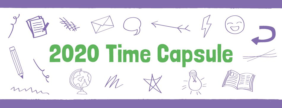 Time capsule banner