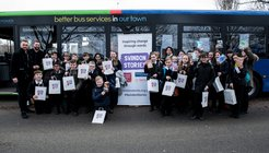 Swindon bus launch